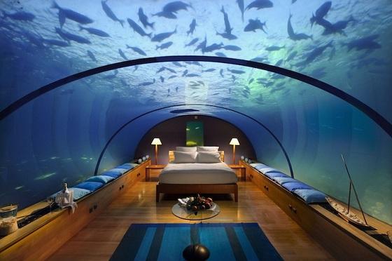 hotel bajo el agua