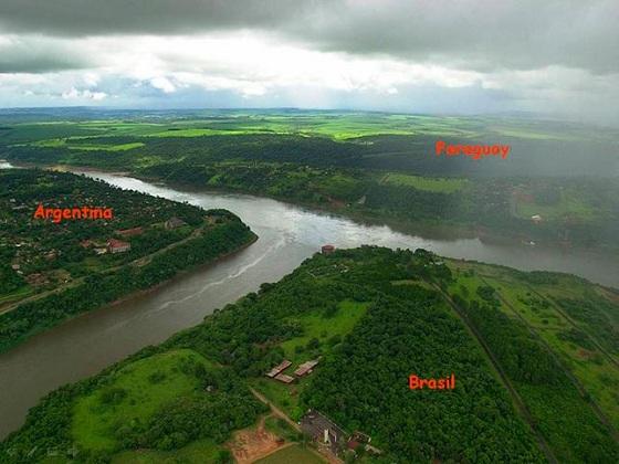 frotnera brasil argentina paraguay