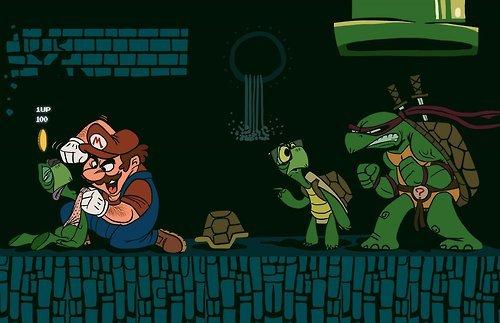 tortugas mario bros