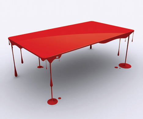 mesa sangrienta