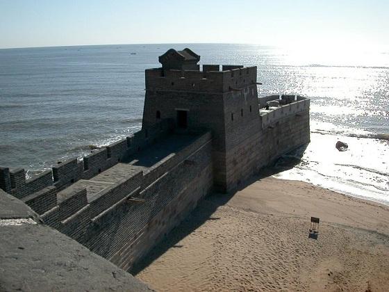 muralla china mar