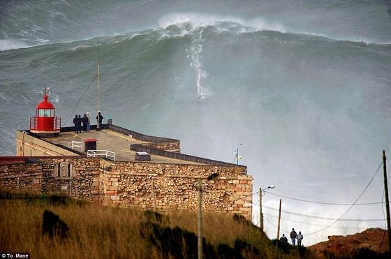 ola surfeada mas grande de la historia