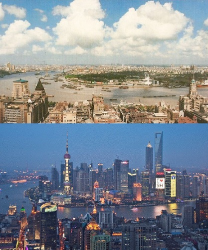 evolucion shanghai