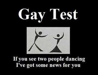 test gay