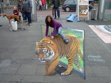 tigre ilusion optica